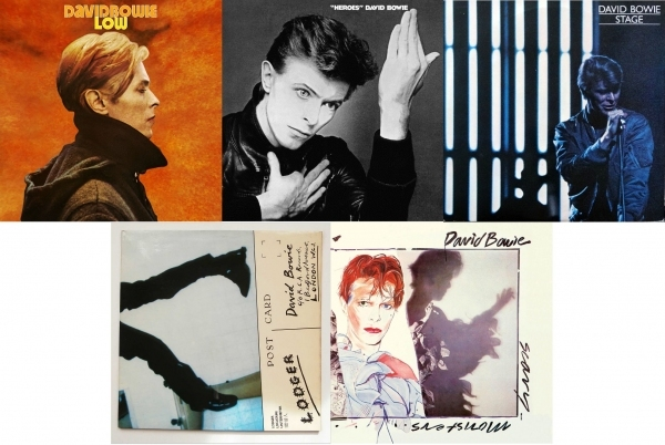 DAVID BOWIE - Low, Heroes, Stage, Lodger & Scary Monsters (And Super Creeps)