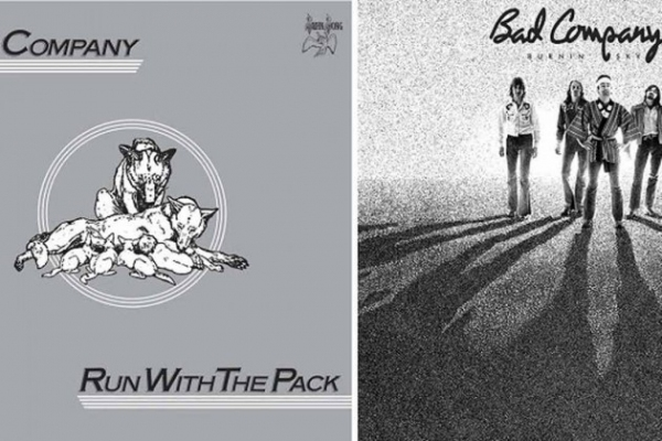 "BAD COMPANY - ""Run With The Pack"" and ""Burnin' Sky"" Deluxe Editions"