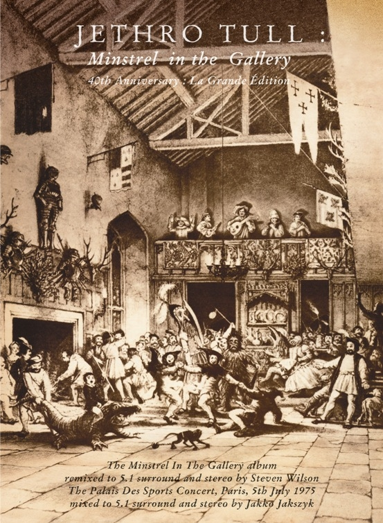 Jethro Tull - Minstrel in the Gallery 40th Anniversary La Grande Edition