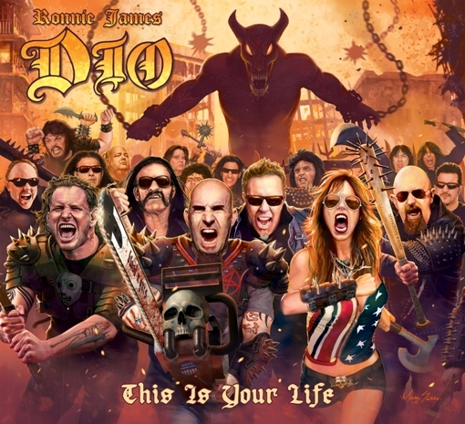 VARIOUS ARTISTS - RONNIE JAMES DIO: THIS IS YOUR LIFE