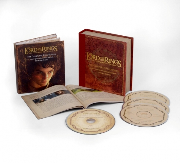 THE LORD OF THE RING - The Lord Of The Rings: The Fellowship Of The Ring: The Complete Recordings